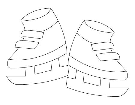 Tegning til farvelaegning af skojter